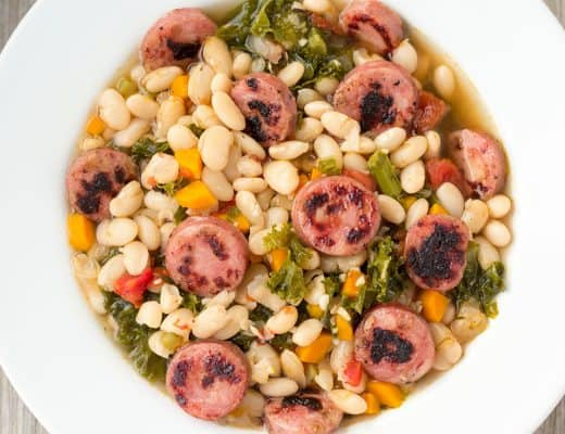 Pressure Cooker White Bean Soup   The Foodie Eats