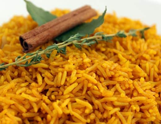 Pressure Cooker Yellow Rice   The Foodie Eats