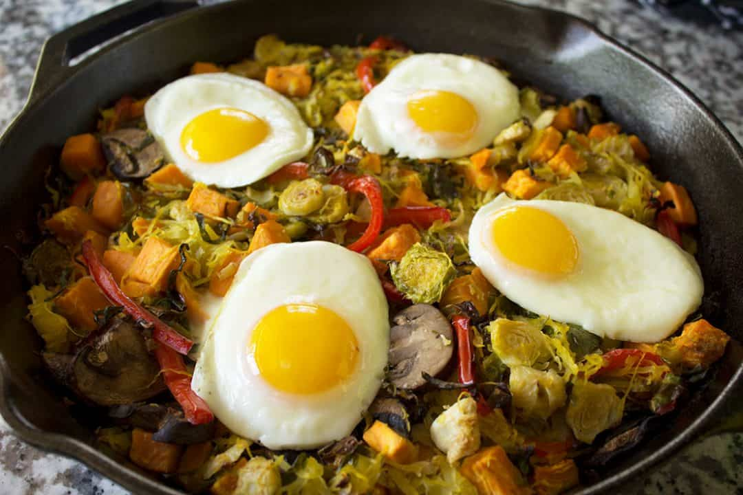 Vegetable Hash | The Foodie Eats