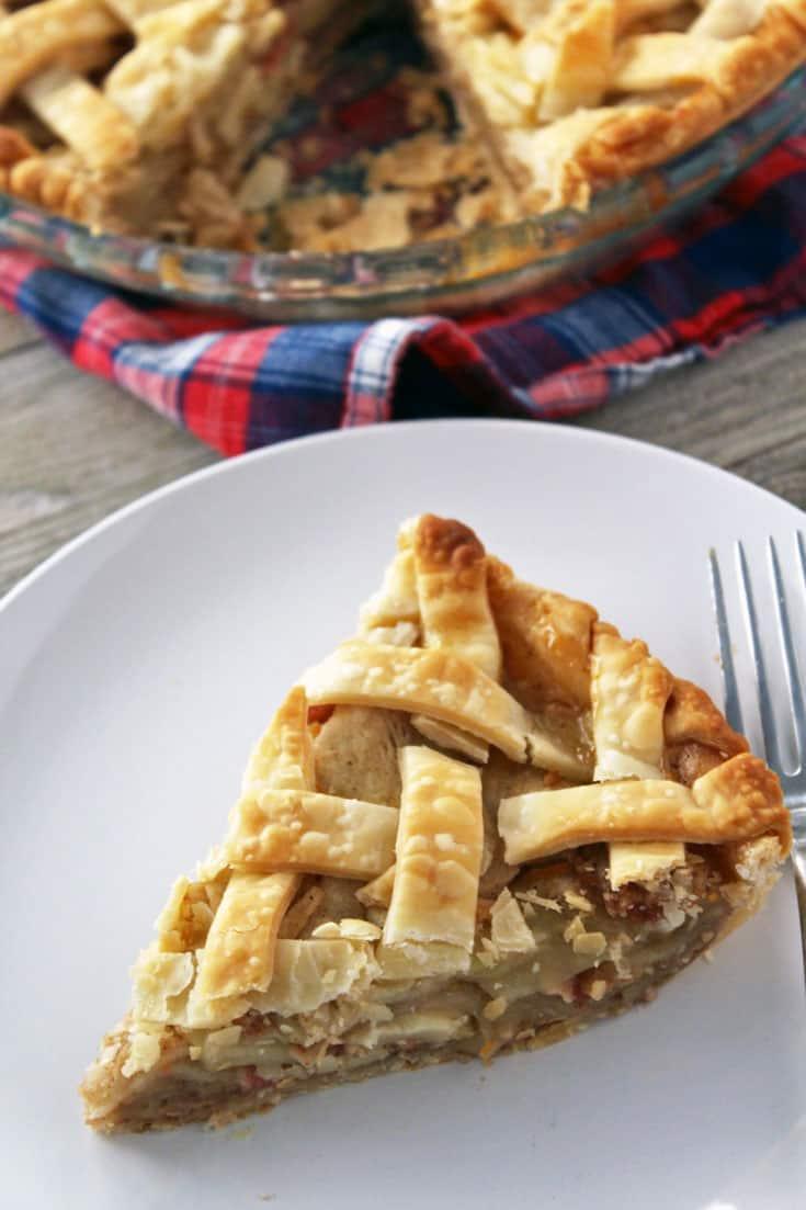 Sweet & Savory Apple Pie | The Foodie Eats
