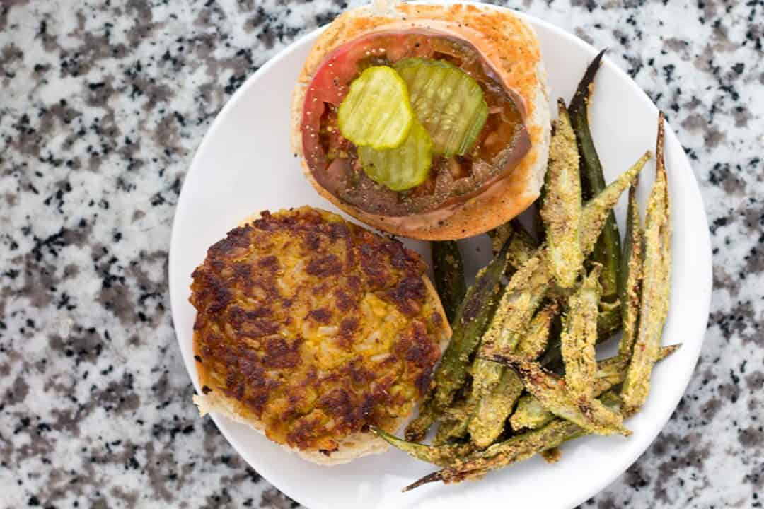 Vegan Butter Bean Burger | The Foodie Eats