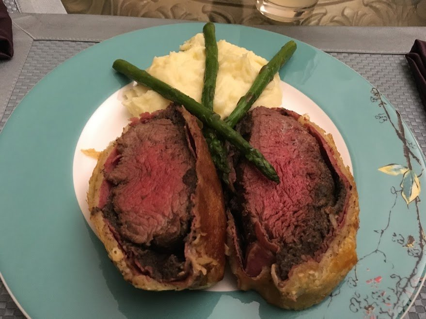Beef Wellington (first try) | The Foodie Eats