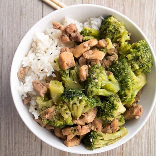 Pressure Cooker Chicken and Broccoli Stir Fry   The Foodie Eats