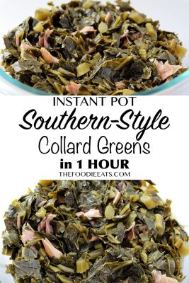 Pressure Cooker Collard Greens