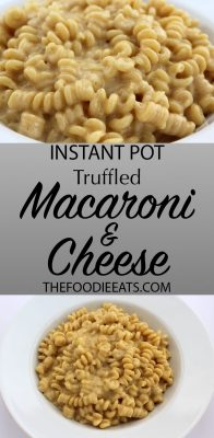 Pressure Cooker Macaroni and Cheese | The Foodie Eats