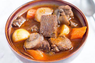 Pressure Cooker Beef Stew   The Foodie Eats