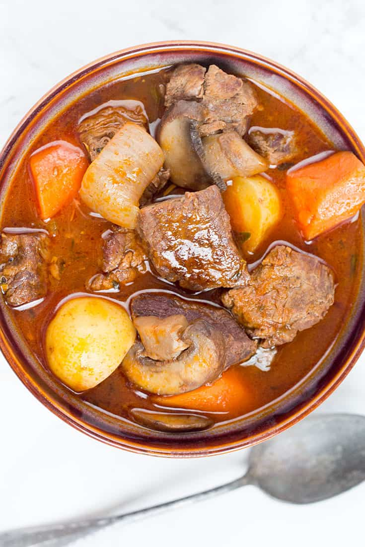 Pressure Cooker Beef Stew | The Foodie Eats
