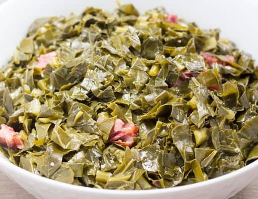 Pressure Cooker Collard Greens | The Foodie Eats