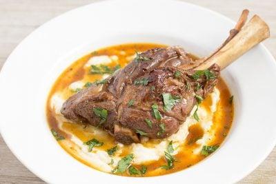 Pressure Cooker Lamb Shanks | The Foodie Eats