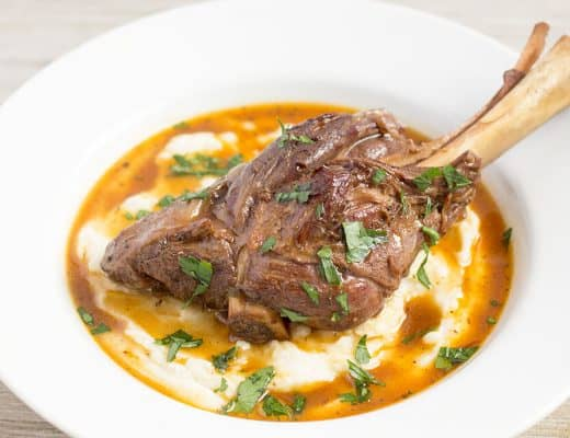 Pressure Cooker Lamb Shanks | The Foodie Eats