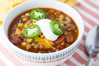 Pressure Cooker Taco Soup   The Foodie Eats
