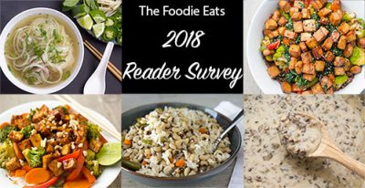 2018 Reader Survey | The Foodie Eats
