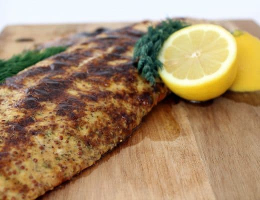 Lemon Dill Salmon | The Foodie Eats