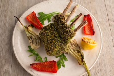 Mint-Crusted Rack of Lamb   The Foodie Eats