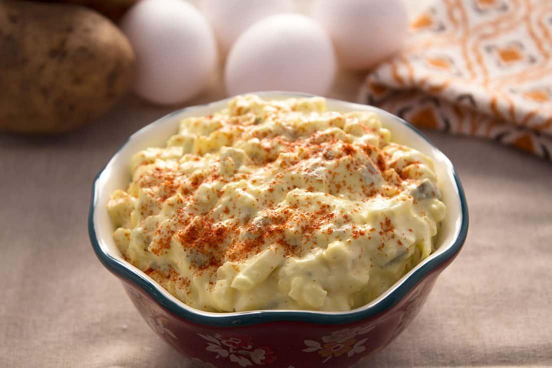 Pressure Cooker Potato Salad | The Foodie Eats