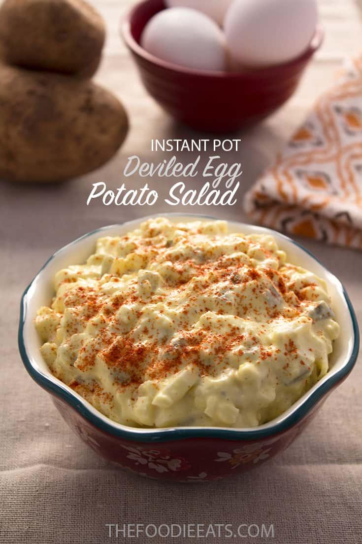 Pressure Cooker Potato Salad   The Foodie Eats