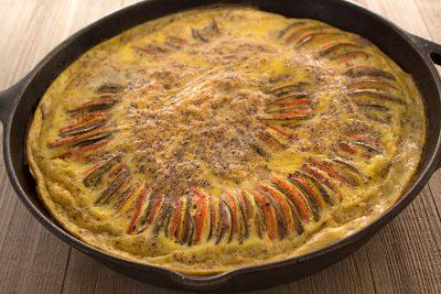 Ratatouille Frittata | The Foodie Eats