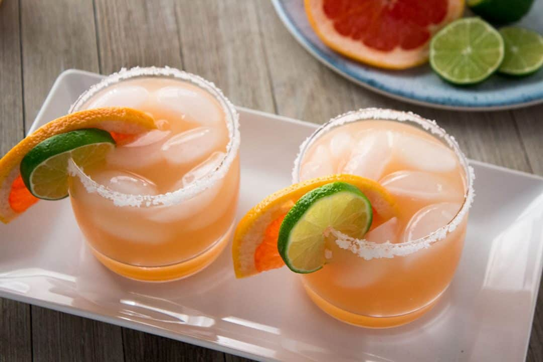 Grapefruit Margarita | The Foodie Eats