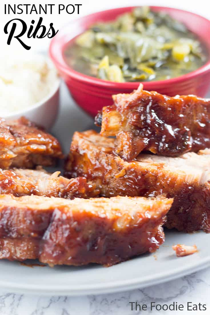 Pressure Cooker Ribs | The Foodie Eats