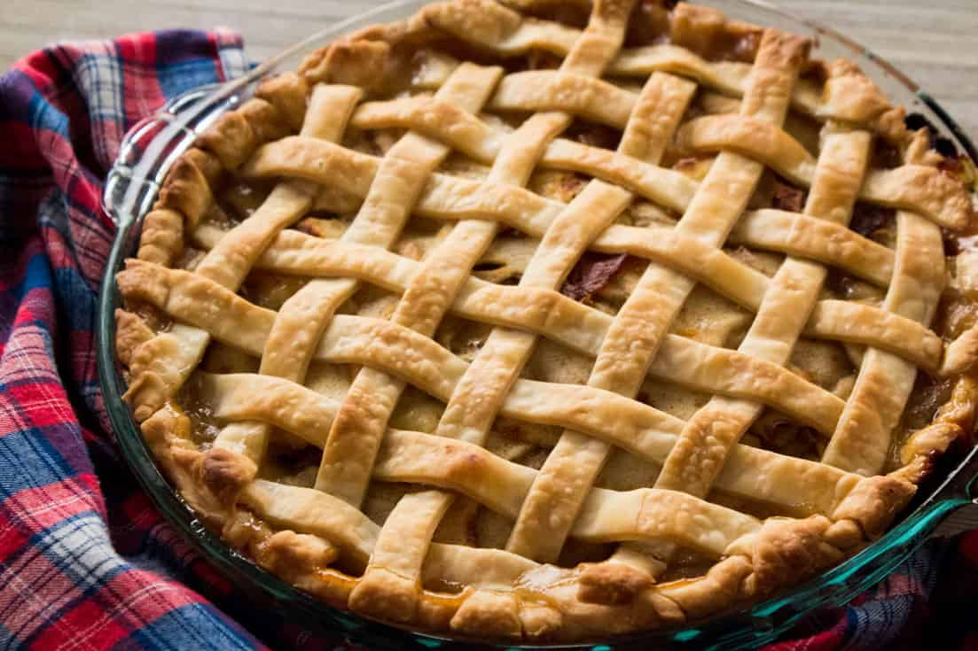 Sweet & Savory Apple Pie | The Foodie Eats
