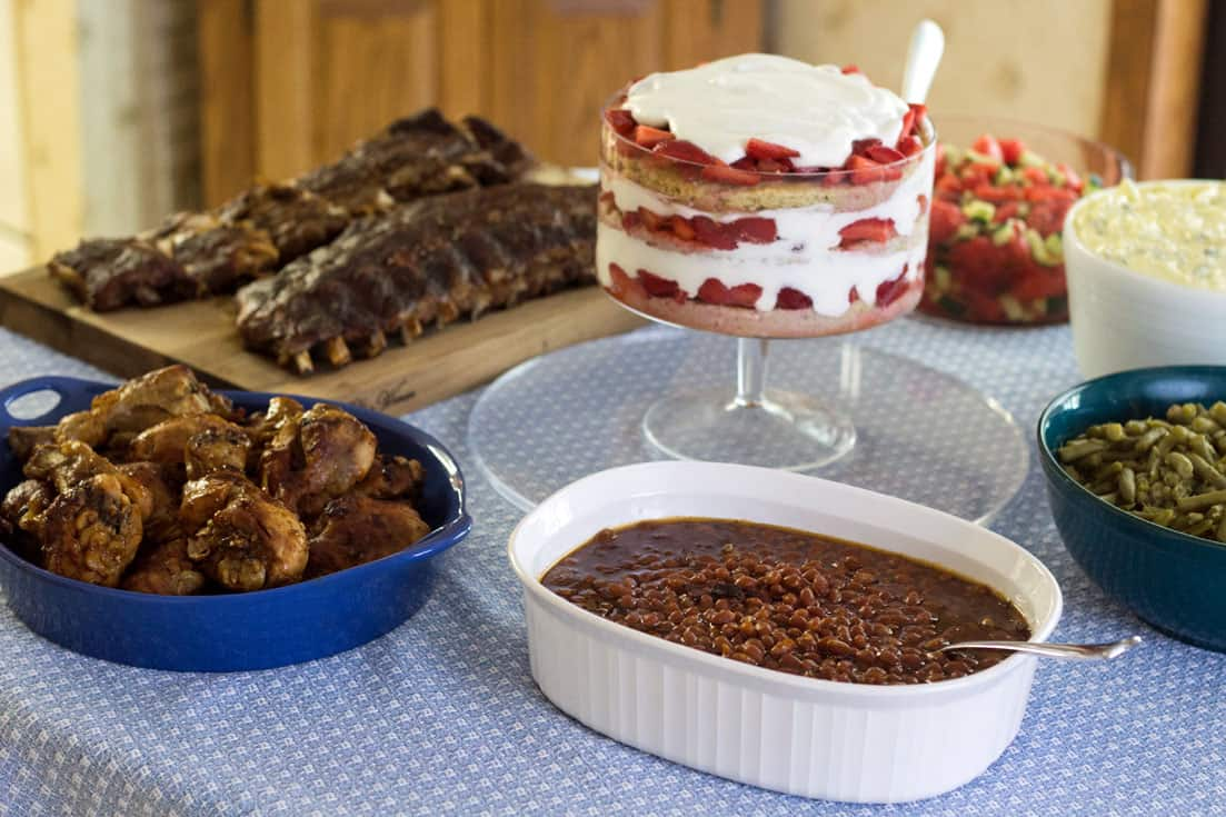 How to Host an Instant Pot Rainy Day BBQ: 5 delicious Instant Pot BBQ recipes! Indoor BBQ   Pressure Cooker   BBQ Chicken   Instant Pot Ribs   Southern Baked Beans   Southern Style Collard Greens   Deviled Egg Style Potato Salad