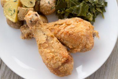 Gluten-Free Fried Chicken | The Foodie Eats