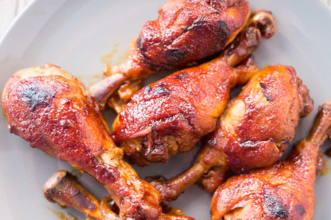 Pressure Cooker BBQ Chicken: 3 Ingredients, 3 Easy Steps! Indoor BBQ | Instant Pot | Pressure Cooker | Easy Summer Recipe