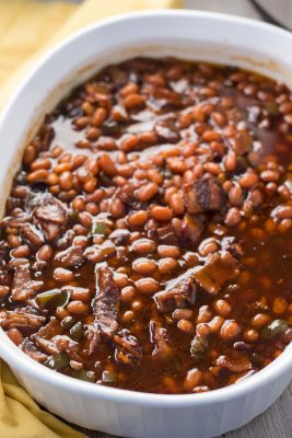 Pressure Cooker Southern Baked Beans   Southern Comfort Food   Instant Pot   Barbecue   Indoor Barbecue   Gluten-Free   Dairy-Free   The Foodie Eats