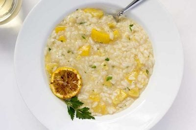 Pressure Cooker Lemon Risotto with Summer Squash   The Foodie Eats