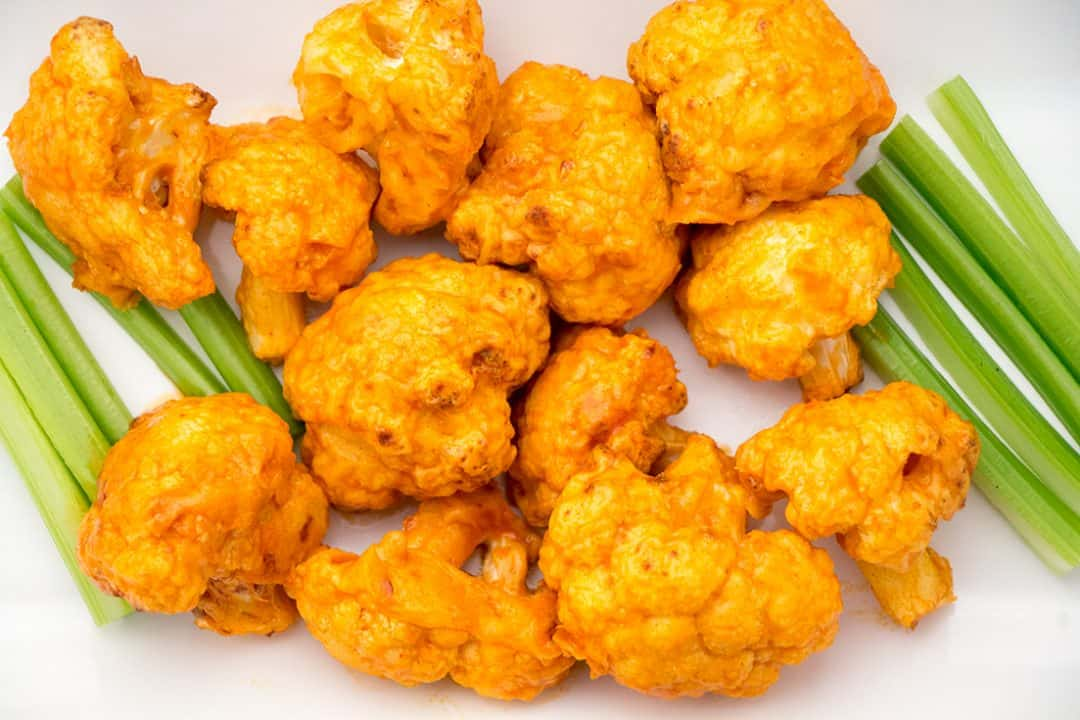 Air Fryer Cauliflower Wings | The Foodie Eats