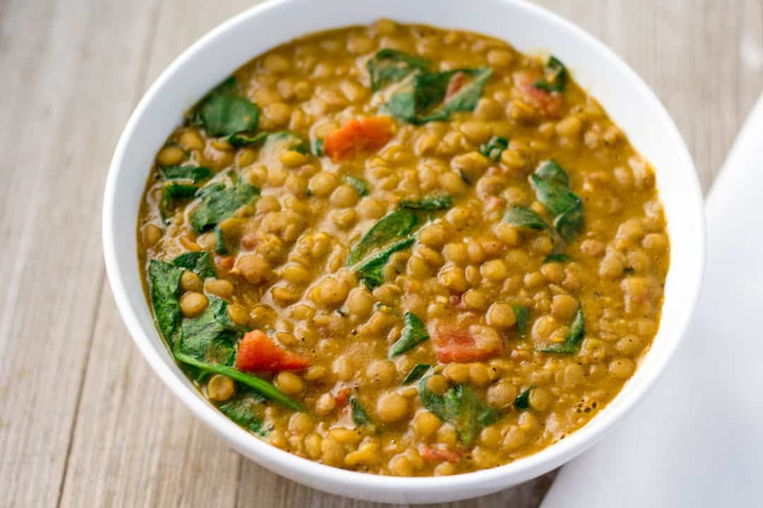 Instant Pot Lentil Dal | The Foodie Eats