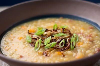Instant Pot Vegan Potato Soup | The Foodie Eats