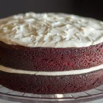 Best Red Velvet Cake with Kahlua and Baileys Cream Cheese Icing | The Foodie Eats