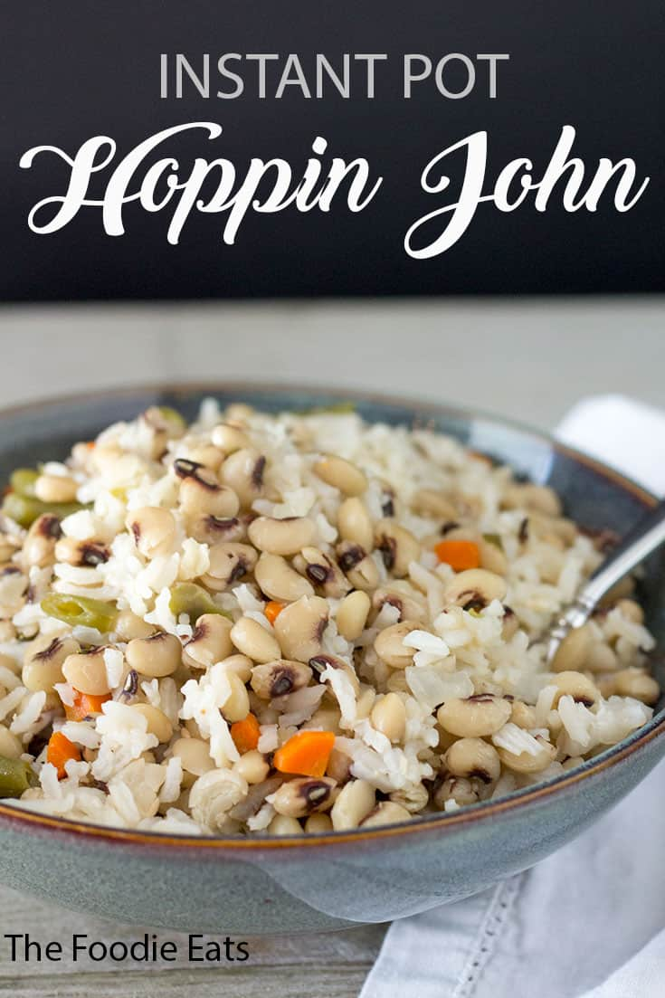 Instant Pot Hoppin John | The Foodie Eats
