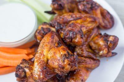 Pressure Cooker Chicken Wings - Sweet, Spicy & Savory | The Foodie Eats