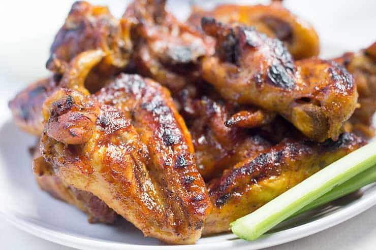 Pressure Cooker Chicken Wings - Sweet, Spicy & Savory | The Foodie Eats
