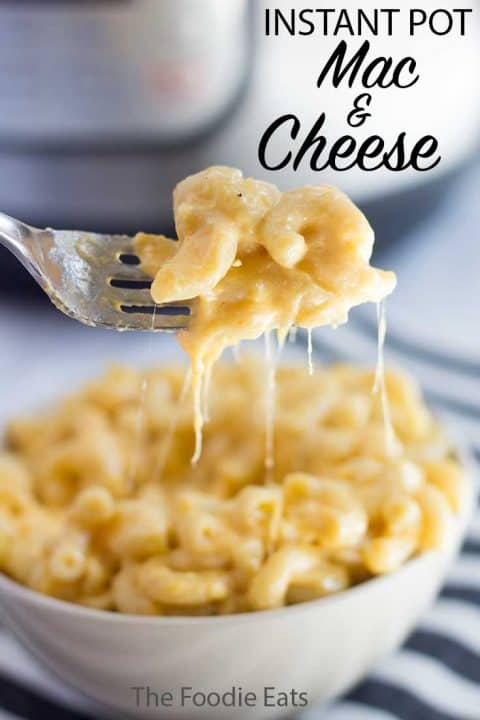 Pressure Cooker Mac and Cheese | The Foodie Eats