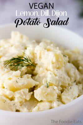 Vegan Potato Salad | Easy Potato Salad Recipe | The Foodie Eats