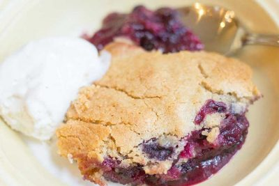 Easy Blueberry Cobbler with Grand Marnier   The Foodie Eats
