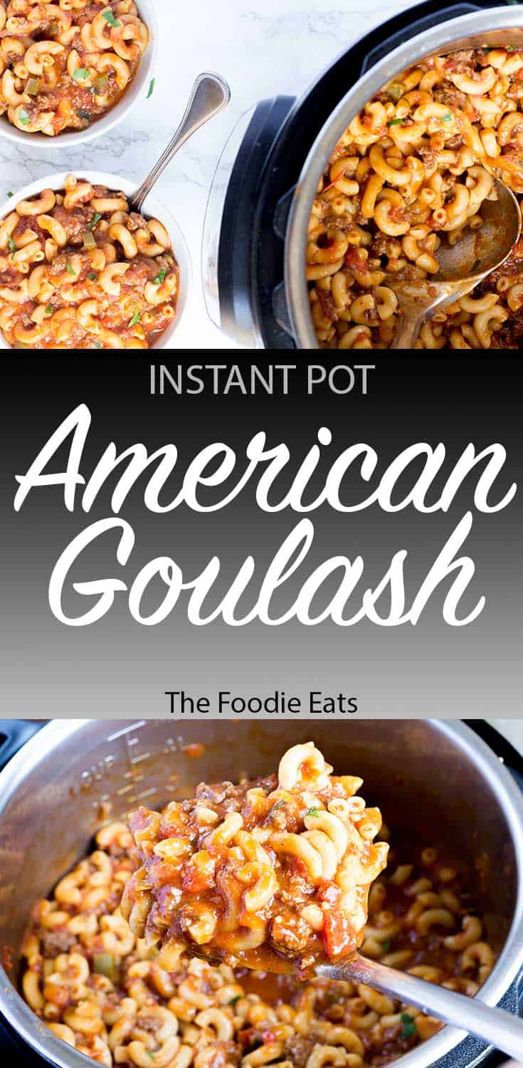Pressure Cooker Goulash | The Foodie Eats