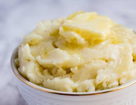 Pressure Cooker Mashed Potatoes | The Foodie Eats