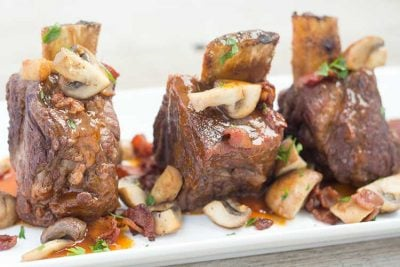 Pressure Cooker Short Ribs | The Foodie Eats