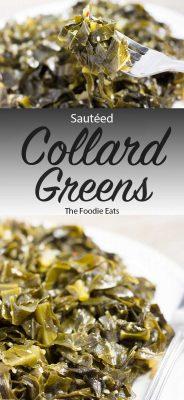 Sautéed Collard Greens | The Foodie Eats