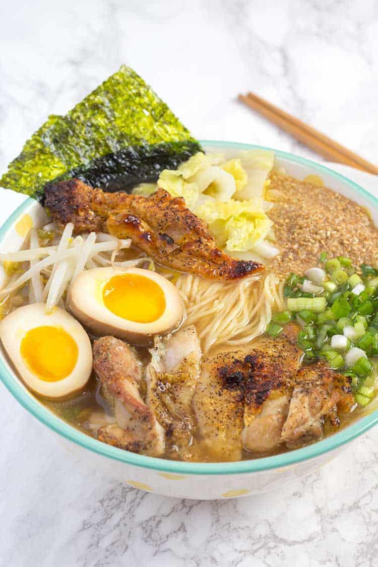 Pressure Cooker Ramen | The Foodie Eats
