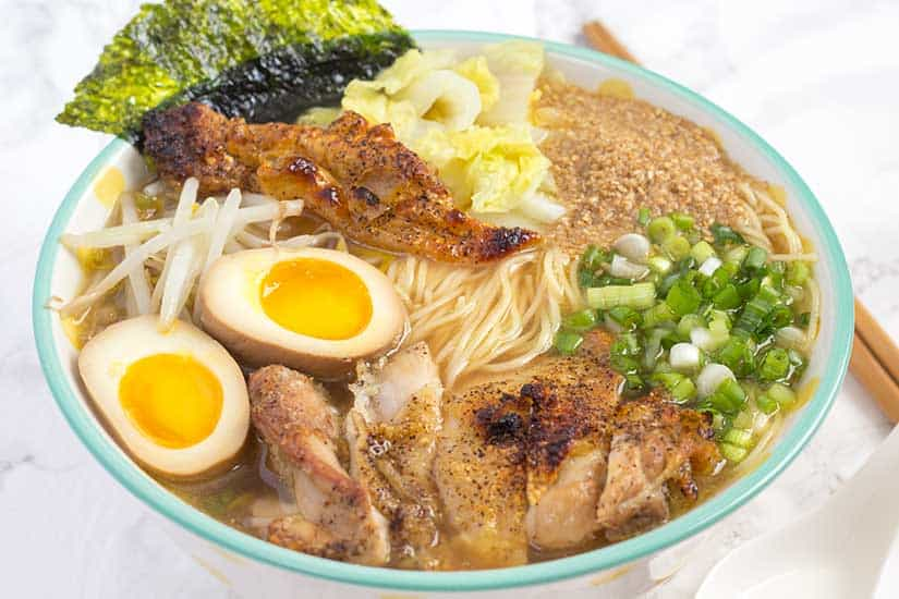 Pressure Cooker Ramen | The Foodie Eats