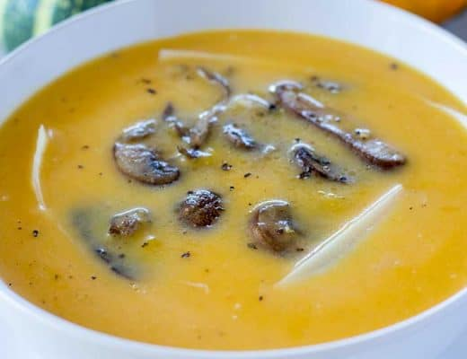 Instant Pot Butternut Squash Soup | The Foodie Eats