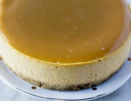 Instant Pot Pumpkin Cheesecake | The Foodie Eats