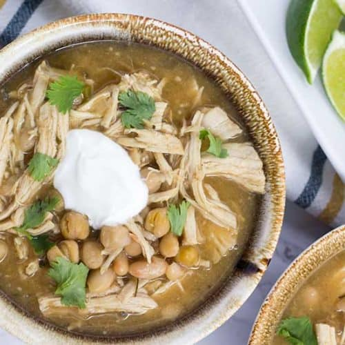 Instant Pot White Chicken Chili | The Foodie Eats