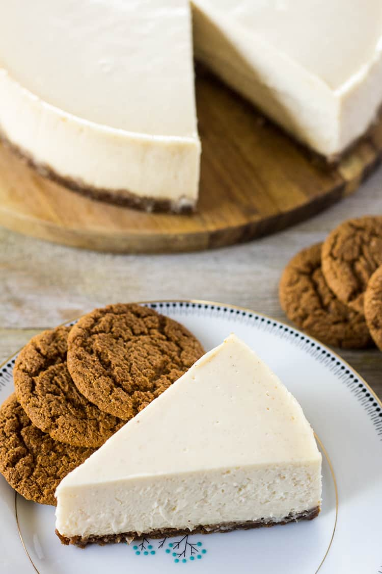 Gingerbread Cheesecake in the Instant Pot | The Foodie Eats