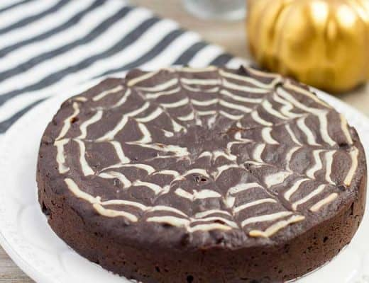 Halloween Brownies in the Instant Pot | The Foodie Eats